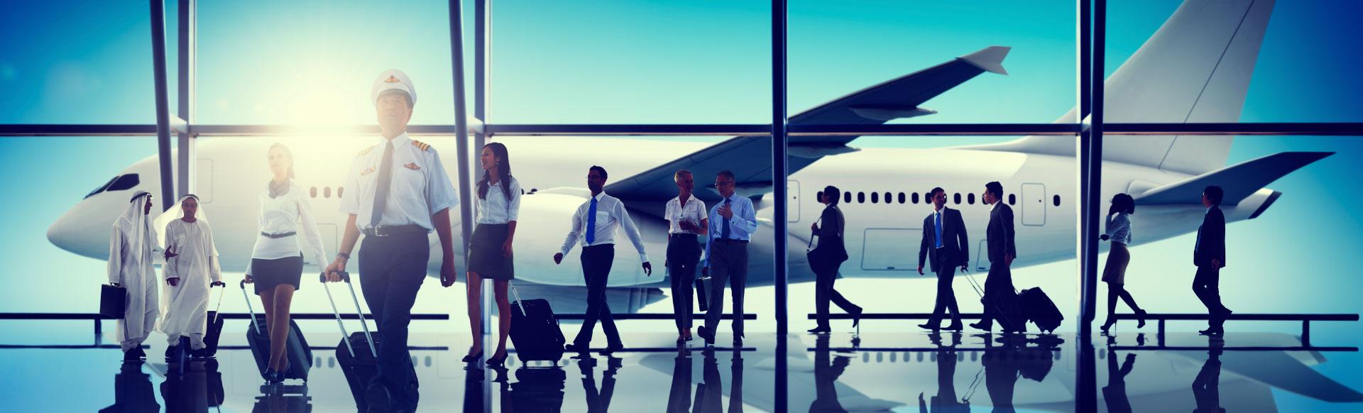 airline crew healing